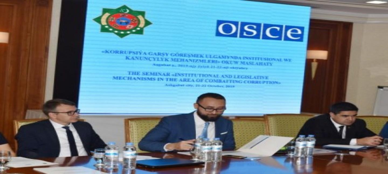 Anti-corruption measures the focus of OSCE seminar in Turkmenistan