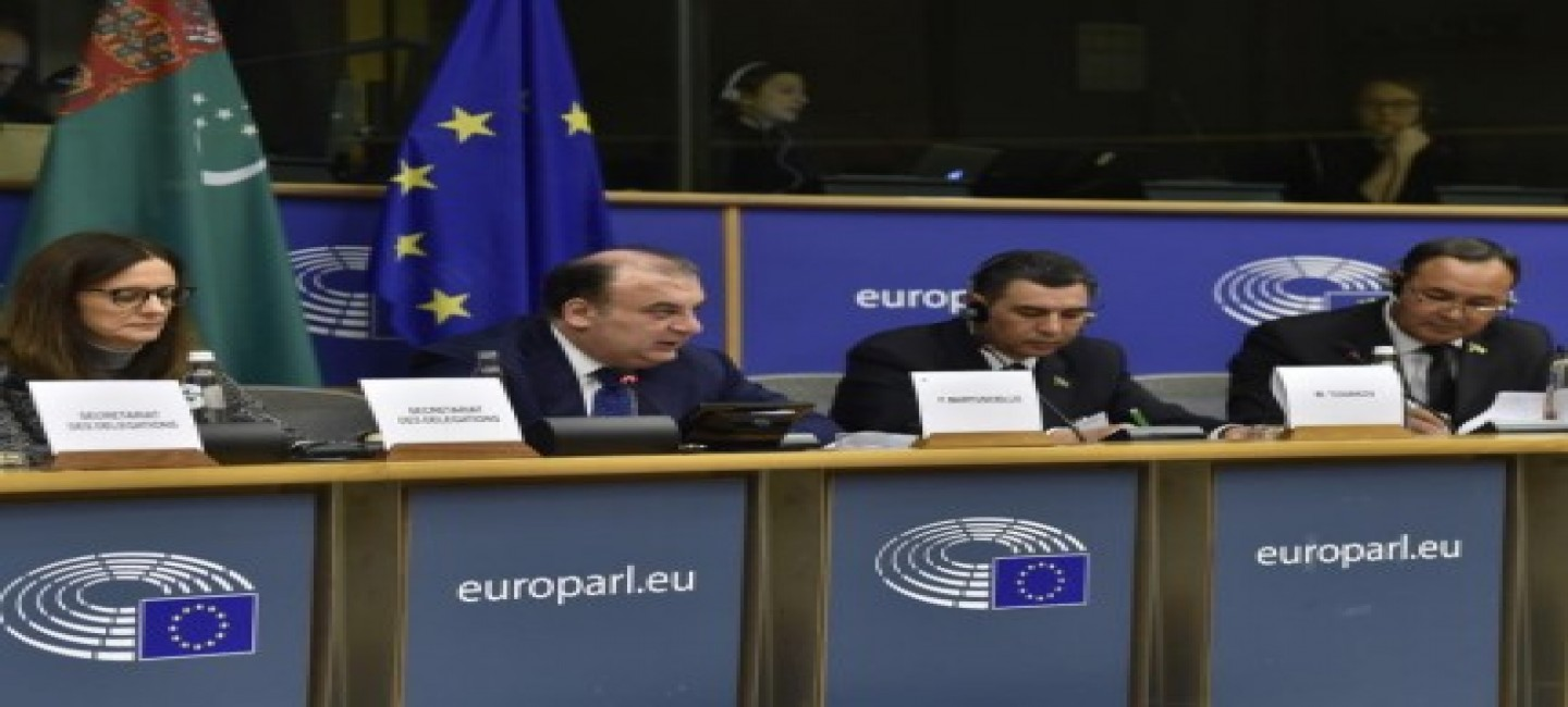 Turkmenistan - EU Interparliamentary Meeting held in Brussels