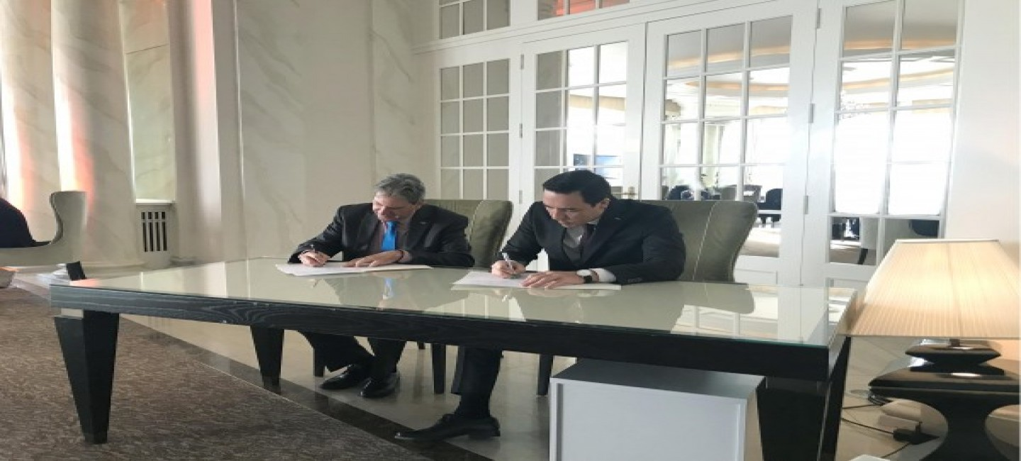 The Turkmen delegation holds talks with the international sport agencies