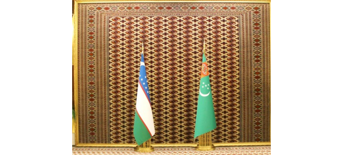 Telephone conversation of the President of Turkmenistan with the President of the Republic of Uzbekistan
