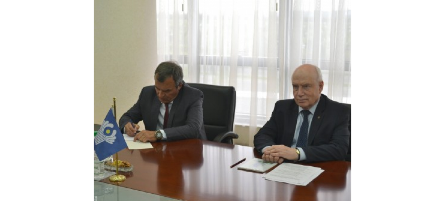Meeting with the Chairman of the CIS Executive Committee – Executive Secretary