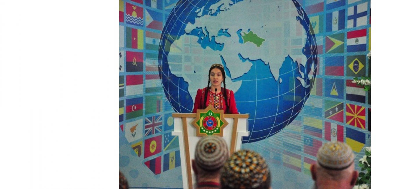 A solemn event was held on the occasion of the Day of the diplomatic worker of Turkmenistan