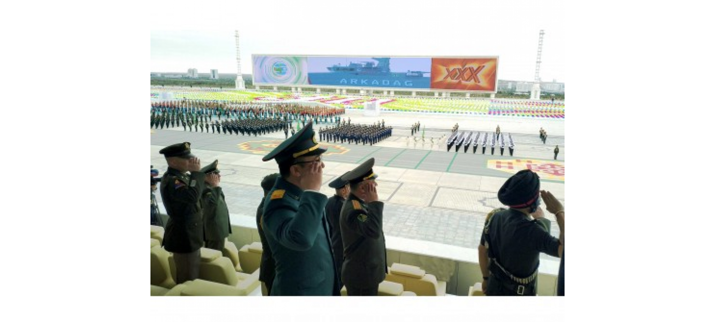 The events dedicated to the 30th jubilee of the Independence of Turkmenistan
