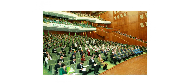 The meeting of the Halk Maslahaty of the Milli Gengesh of Turkmenistan was held in Ashgabat