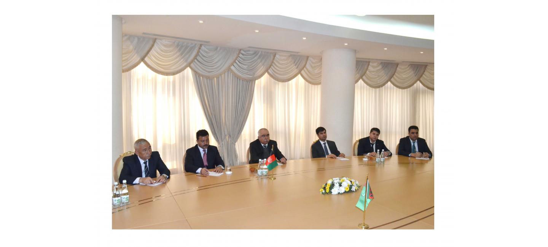 Встреча Министра иностранных дел Туркменистана с руководителем партии Национального исламского движения Афганистана