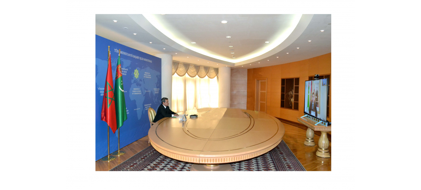 Turkmen-Moroccan political consultations on the level of external policy agencies of Turkmenistan and the Kingdom of Morocco were held