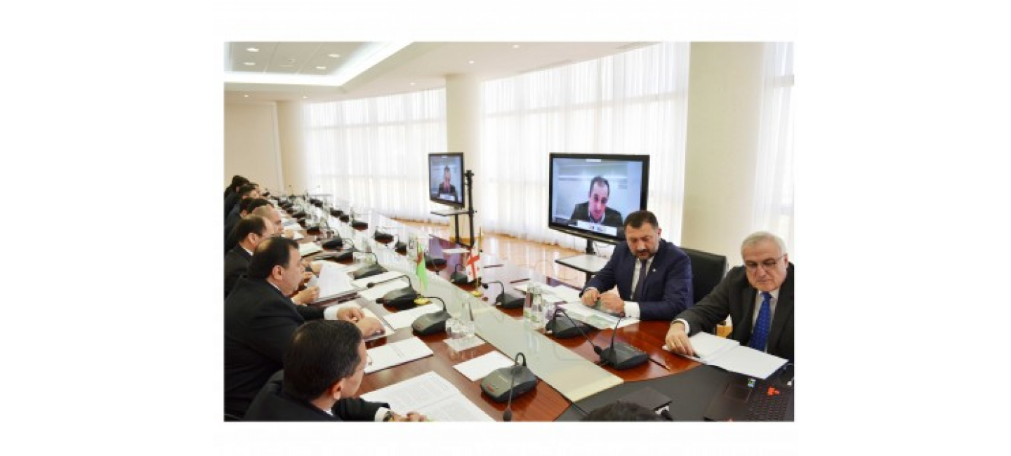 Turkmen-Georgian bilateral relations discussed at a video conference
