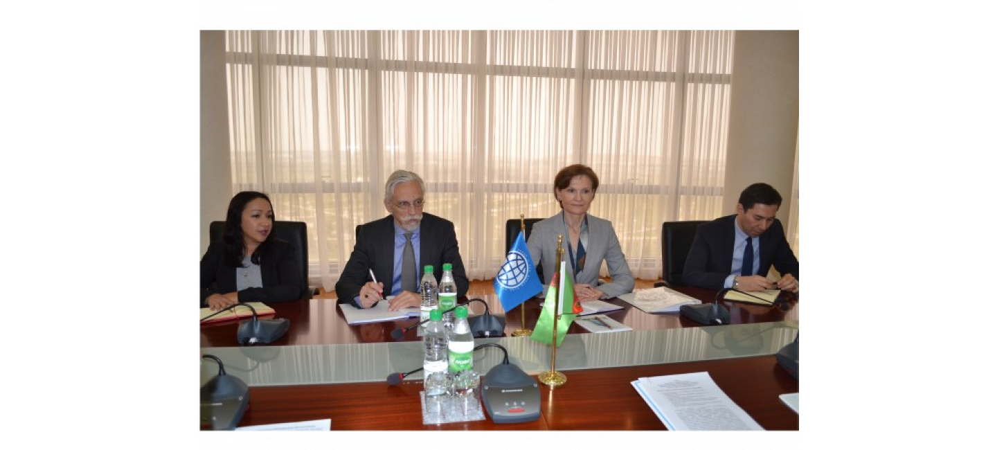 A meeting with the representatives of the World Bank was held at the Ministry of Foreign Affairs of Turkmenistan