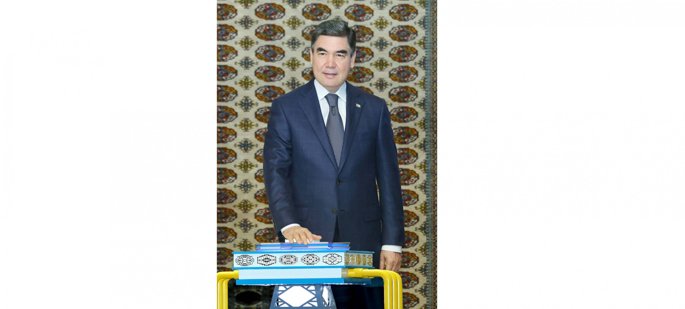 A gas chemical complex was opened in Kiyanly with the participation of the President of Turkmenistan